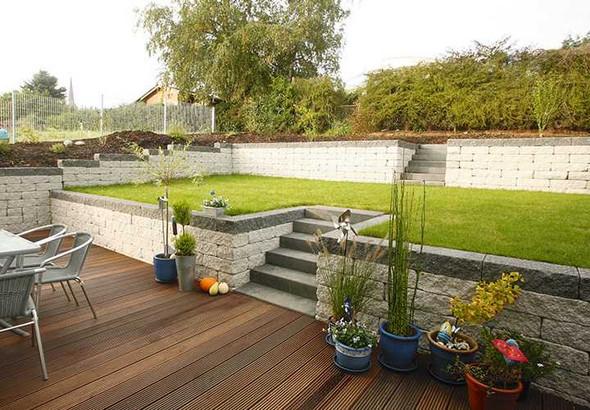 Garten Mit Hanglage Kosten Landschaftsbau