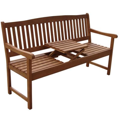 gartenbank mit ausklappbaren tisch als hochzeitsgeschenk. Black Bedroom Furniture Sets. Home Design Ideas