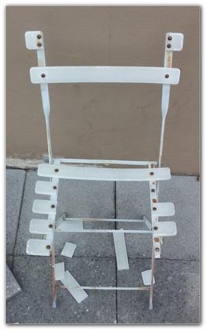 durchgesessen... :( - (Reparatur, Möbel, Stuhl)