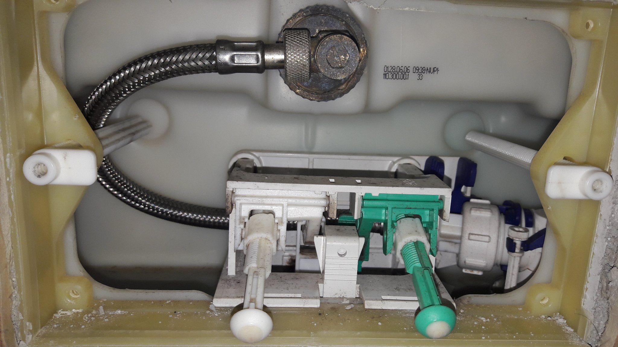 geberit wc wasser abdrehen toilette handwerker. Black Bedroom Furniture Sets. Home Design Ideas