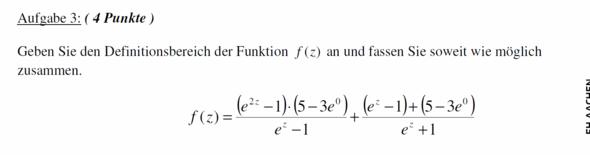 Aufgabe - (Mathe, Mathematik, Gleichungen)