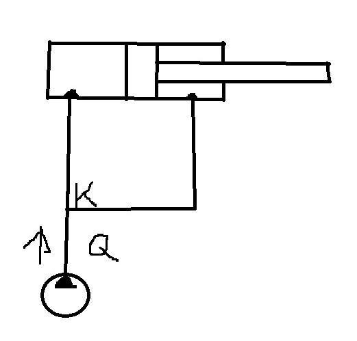 gedankliches problem hydraulik zylinder technik mathe. Black Bedroom Furniture Sets. Home Design Ideas