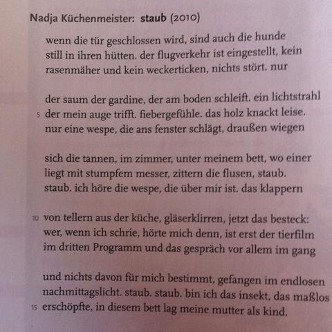 Wie Kann Ich Das Gedicht Interpretieren Staub Schule