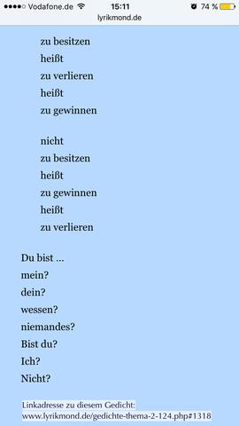 Gedicht  - (Gedicht, Interpretation, Poesie)