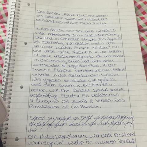 Seite 1 - (Schule, Deutsch, gedichtanalyse)