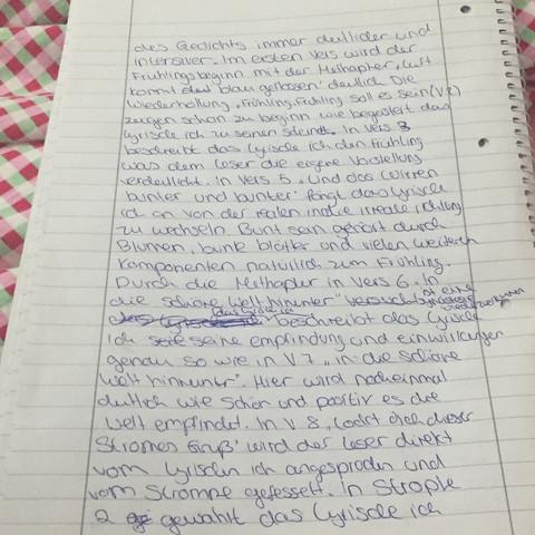 Seite 2 - (Schule, Deutsch, gedichtanalyse)