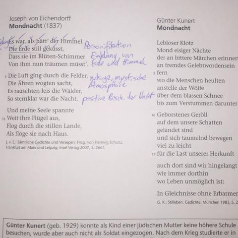 Gedichte - (Schule, Apple, deutsch)
