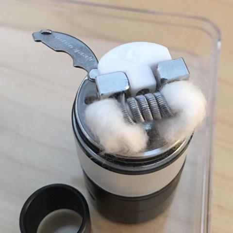 Aufbau Verdampfer 1 - (Dampfen, Watt, Liquid)