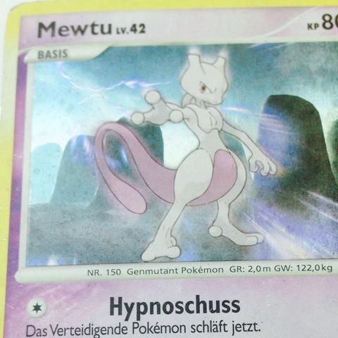 Mewtu - (Pokemon, Karten, gefälscht)