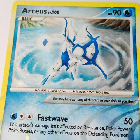 Arceus - (Pokemon, Karten, gefälscht)