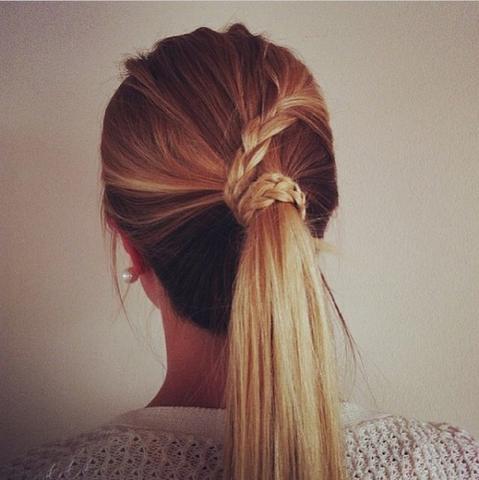 Gefärbte Braune Haare Blondieren Blonde Strähnen Ombre Machen