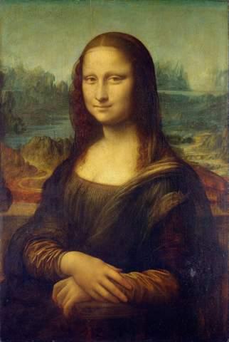Gegenstände auf dem Mona Lisa Bild?