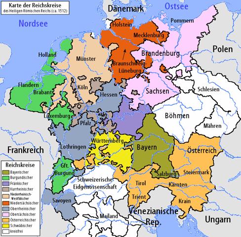 Gehörte die Böhmische Krone zum Heiligen Römischen Reich?