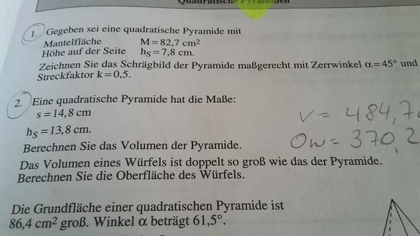1.1 - (Schule, Mathematik, Rechnen)