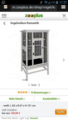 Vogelkäfig  - (Käfig, Nager, Chinchilla)