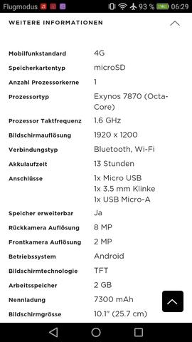 - (Technik, Tablet, Speicherkarte)