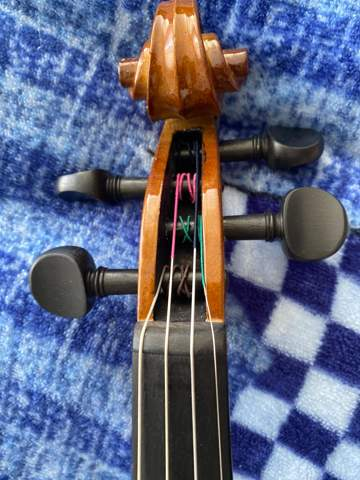 Geige welche Saite is dass?