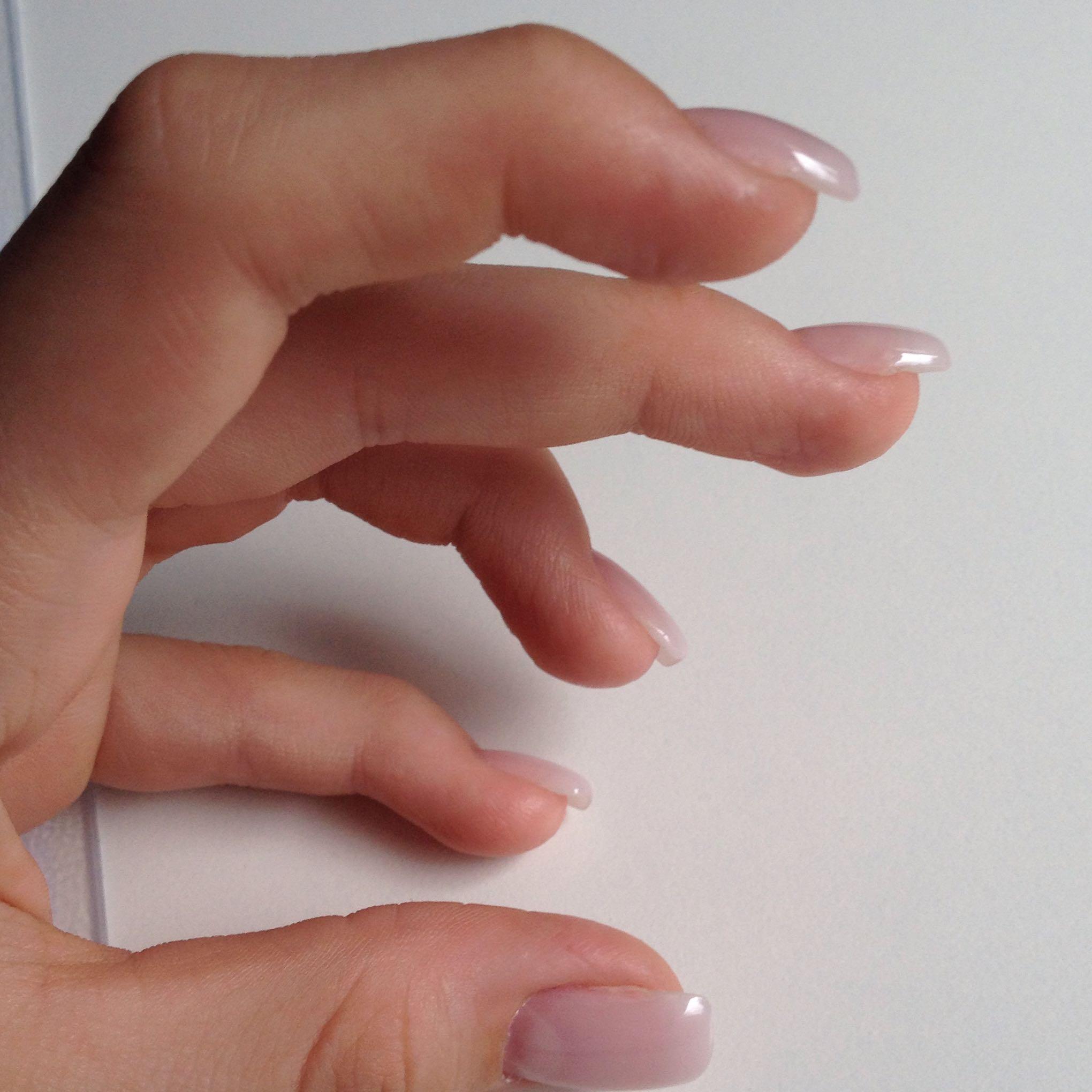 Gel-Nägel zu dick? (Gelnägel, Nagelstudio)