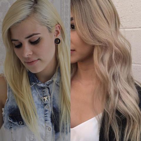 jetzt - wunsch - (Haare, Friseur, färben)