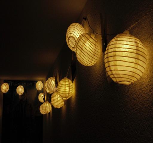 Lichterkette - (Fotografie, Spiegelreflex)