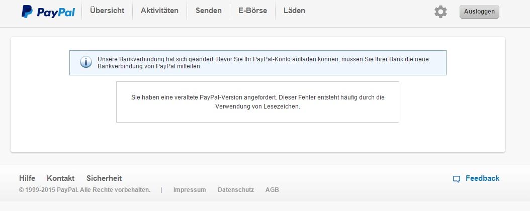 Einzahlen Auf Paypal