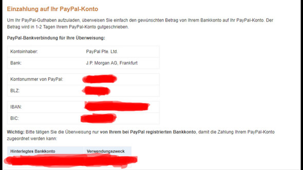 Von Paypal Auf Girokonto