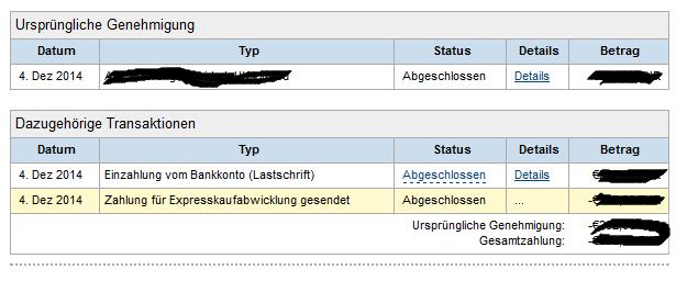 Pay Pal Гјberweisung
