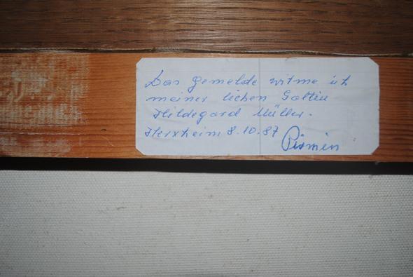 bild1 unterzeichnung - (Wert, Gemälde)