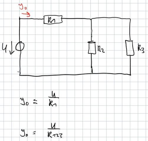 Gemischte Schaltung: Stromstärke berechnen?