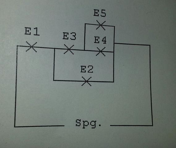 Die Schaltung - (Elektrotechnik, Teilspannungen, Teilströme)