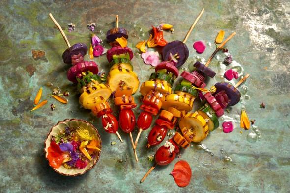 Gemüse grillen - (Fleisch, Gemüse, Grillen)