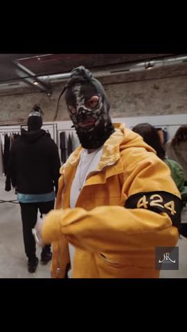 Diese gelbe Jacke - (Musik, Mode, Hip Hop)