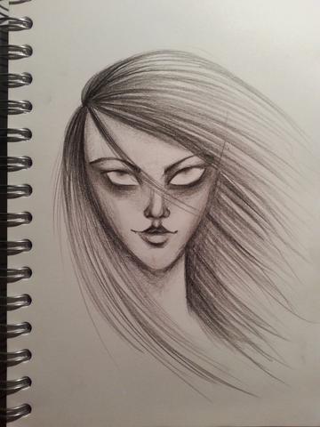 Gekritzel, das meinen Stil ganz gut darstellt - (Meinung, zeichnen, Kritik)