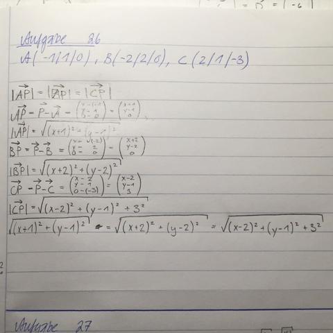 ganz unten 3 gleichungen - (Mathematik, Gleichungen, vektoren)