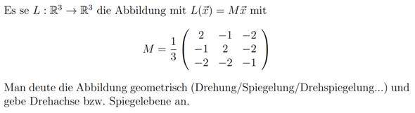 Geometrische Deutung einer Abbildung?