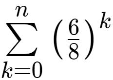 Geometrische Reihe: Differenz zum Grenzwert bestimmbar?