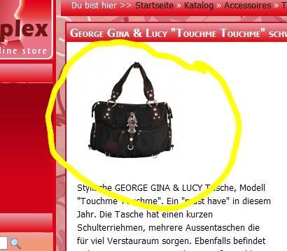 George Gina & Lucy Tasche - (Mode, Tasche, Accessoires)