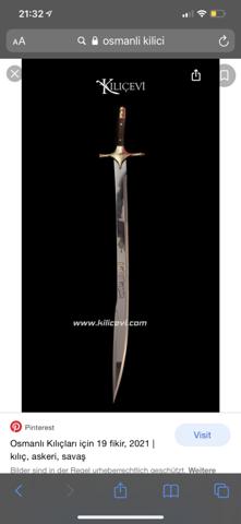 Gerade Schwerter und gebogene Schwerter?