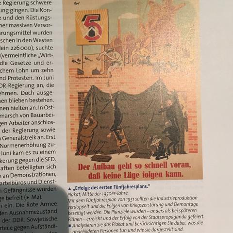 Karikatur Geschichte - (Geschichte, Wirtschaft, DDR)