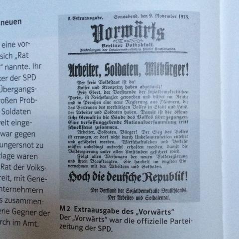 Den Text denn ich nicht lesen kann (M2) - (Geschichte, Deutschland, Hausaufgaben)