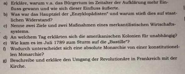 - (Schule, Geschichte, Aufklärung)