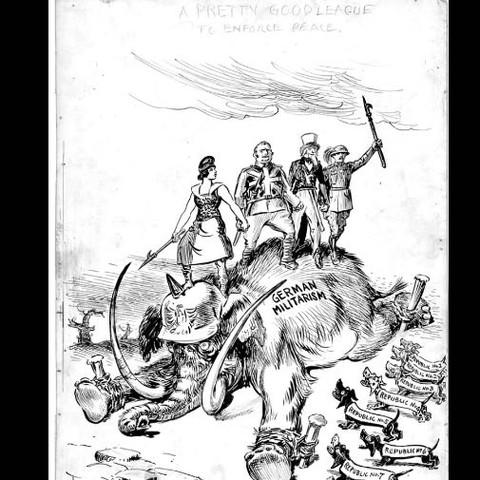 Geschichts Kennerwas Ist Bei Der Karikatur Der Inhaltlichen