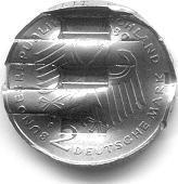 2 DM geschredert - (Finanzen, entwerfen, kuriositaet)