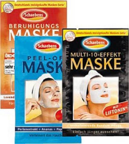 - (Gesichtsmaske)