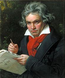 Beethoven - Schal - (Kleidung, Kostüm, Schal)