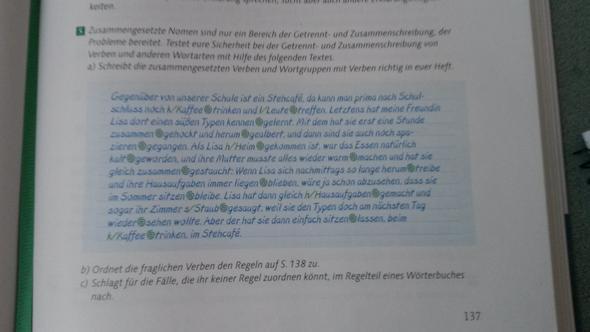 Aufgabe 5  - (deutsch, Rechtschreibung)