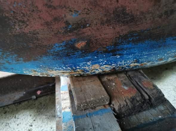 GFK Segelboot, Schäden am Kiel?  Suchen fachkundigen Rat?