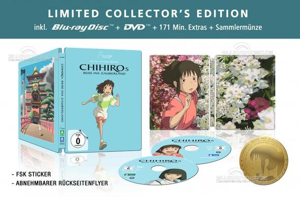Das ist das Steelbook von Chihiros reise ins Zauberland - (Anime, Limited Edition, Ghibli)