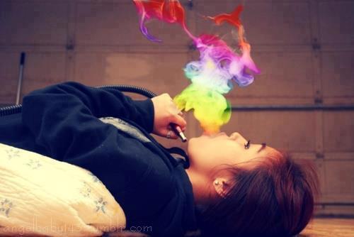 Bunt  - (Farbe, rauchen, Shisha)