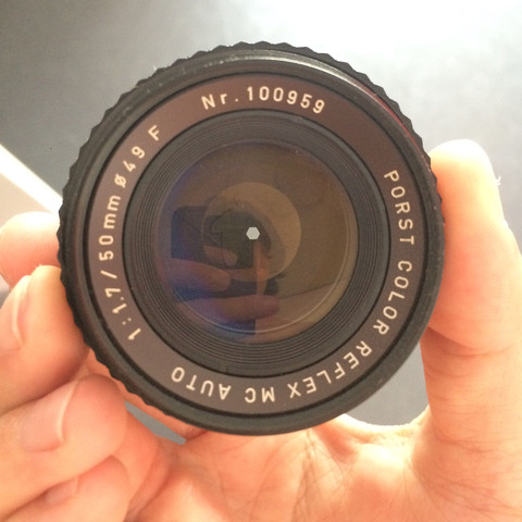 Von vorne  - (Foto, Kamera, Adapter)